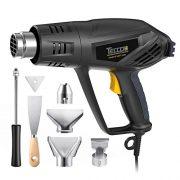 Dcapeur-Thermique-TECCPO-2000W-Pistolet--Air-Chaud-240V-3-Tempratures-50-550-Vitesse-du-Vent-500Lmin-1-Min-Fonction-innovante-de-refroidissement-7-Accessoires-en-Mtal-TAHG01P-0