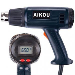Dcapeur-Thermique-avec-temprature-rglable-de-100--650--et-deux-vitesses-de-ventAIKOU-2000W-pistolet--air-chaud-pour-le-moulage-le-rtrcissement-la-soudure-avec-le-jeu-de-buses-de-montage-polyvalent-Ver-0