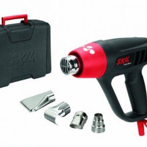 Skil-8003DC-Pistolet-Air-Chaud-Decapeur-Thermique-avec-Temprature-rglable-sur-3-positions-2000W-4-Buses-Coffret-0