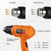 Tacklife-Dcapeur-Thermique-1800W-HGP70AC-Pistolet--Air-Chaud-230V-50Hz-3-Modes-de-Temprature-I-50-250Lmin-II-400-250Lmin-III-550-500Lmin-avec-4-Buses-Fournies-0-0