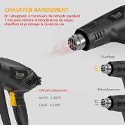 Dcapeur-Thermique-TECCPO-2000W-Pistolet--Air-Chaud-240V-3-Tempratures-50-550-Vitesse-du-Vent-500Lmin-1-Min-Fonction-innovante-de-refroidissement-7-Accessoires-en-Mtal-TAHG01P-0-1
