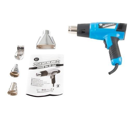 Silverline-127655-Pistolet-dcapeur-2000-W-600-C-0