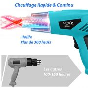 Pistolet--Air-Chaud-HolifeDcapeur-Thermique-Haute-Puissance-2000W-2-Modes-de-Temprature-350-250Lmin-et-550-500Lmin-4-BusesDoubles-Fils-ThermiquesChauffage-Rapide-0-0