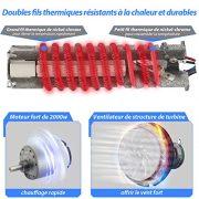 Pistolet--Air-Chaud-HolifeDcapeur-Thermique-Haute-Puissance-2000W-2-Modes-de-Temprature-350-250Lmin-et-550-500Lmin-4-BusesDoubles-Fils-ThermiquesChauffage-Rapide-0-1