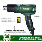 Pistolet--Air-Chaud-Pistolet--thermique-TECCPO-2000W-240V-3-rgulateurs-de-temprature-50--C--600--C-volume-de-500L-MIN-avec-5-accessoires-TAHG07P-De-TECCPO-0-0