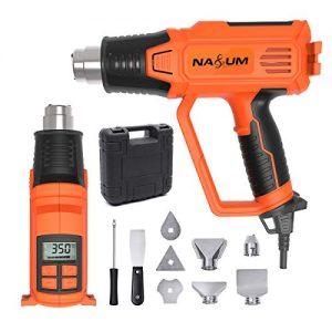 Pistolet--Air-Chaud-NASUM-Dcapeur-Souffleur-Thermique-avec-cran-LCD-JS-RFA0818A-220-240V-5060Hz-2000W-50-600-Vitesse-de-Vent-180-280Lmin-9-Accessoires-incluant-Buses-avec-Valise-de-Transport-0