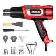 TEENO-Dcapeur-thermique-2000W-Pistolet--Air-Chaud-coffret-avec-8-accessoires-0