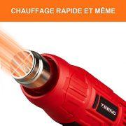 Dcapeur-Thermique-TEENO-2000W-Pistolet--Air-Chaud2-Tempratures-350600-Vitesse-du-Vent-300-500Lmin-4-Accessoires-en-Mtal-0-1