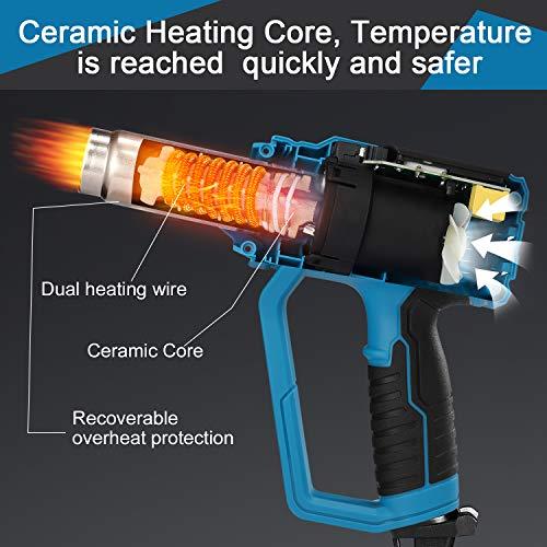 Pistolet–Air-Chaud-Tilswall-2000W-Decapeur-Thermique-avec-12-Tempratures-Rglables50-600Noyau-Chauffage-en-CramiqueLED-Indicateur-9-Accessoires-pour-Dcapage-de-PeintureTuyaux-de-Soudure-0-0