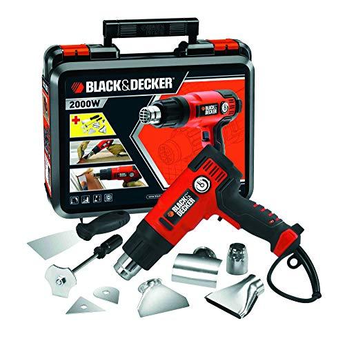BLACKDECKER-KX2200K-QS-Dcapeur-Thermique-Filaire-360–720-L-Dairmin-Fourni-en-Coffret-avec-4-Buses-1-Grattoir-1-Poigne-Grattoir-et-2-Ttes-de-Grattoir-2200W-Orange-0