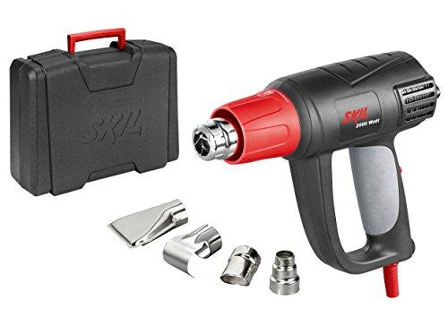 Skil-8004AA-Pistolet-Air-Chaud-Dcapeur-Thermique-Digital-avec-Temprature-rglable-variable-2000W-LCD-Buses-Coffret-0